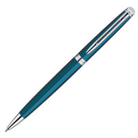 Ручка WATERMAN 1869014 Шариковая ручка Waterman Hemisphere Essential 2013, Metallic Blue CT, стержень: MBlue
